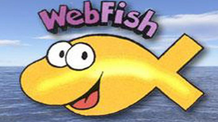 webfish in Gold